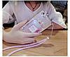 """Силіконовий чохол зі стразами рідкий протиударний TPU для Samsung A20 А205F """"MISS DIOR"""", фото 7"""