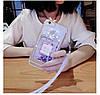 """Силіконовий чохол зі стразами рідкий протиударний TPU для Samsung A20 А205F """"MISS DIOR"""", фото 8"""