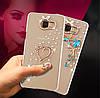 """Чехол со стразами силиконовый прозрачный противоударный TPU для Samsung A20 А205F """"DIAMOND"""", фото 6"""