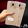 """Чехол со стразами силиконовый прозрачный противоударный TPU для Samsung A20 А205F """"DIAMOND"""", фото 8"""