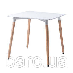 Cuadrado стол белый 80 см