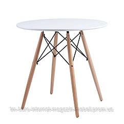 Redonda стол белый 80 см