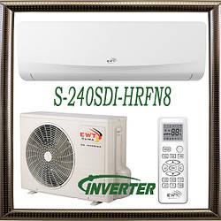 EWT S-240SDI-HRFN8 до 70 кв.м. инверторный кондиционер серия Breeze до -15С