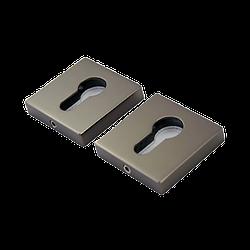 Накладка под цилиндр Siba R09 графит