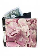 Кошелек кожаный DM 14 Флокс розовый SKL47-177152