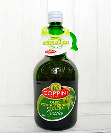 Оливковое масло COPPINI Terni Extra vergine di oliva Classico 1 л