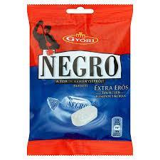 Цукерки-льодяники Negro Extra Eros Екстра сильні 79 г