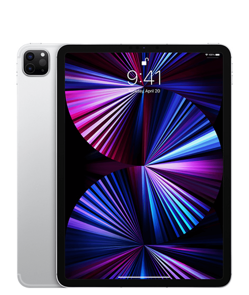Apple iPad Pro 11 2021 Wi-Fi + Cellular 128GB Silver (MHMU3)