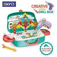 Детский набор в чемодане Creative Little Drill Box