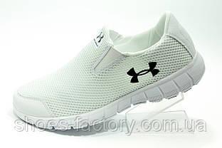 Белые кроссовки Under Armour летние женские