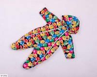 Детский демисезонный комбинезон-человечек разноцветный SKL11-260892
