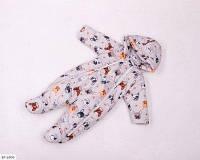 Детский демисезонный комбинезон-человечек серый SKL11-260893