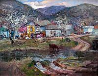 Сельский пейзаж. Сельский пейзаж картина. Картины на тему сельского пейзажа