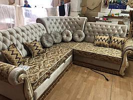Комплект мягкой мебели Дубай ( угловой диван + 1 кресло) СлонимМебель