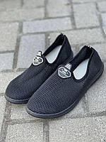 Женские мокасины ТСА 18 черный черный