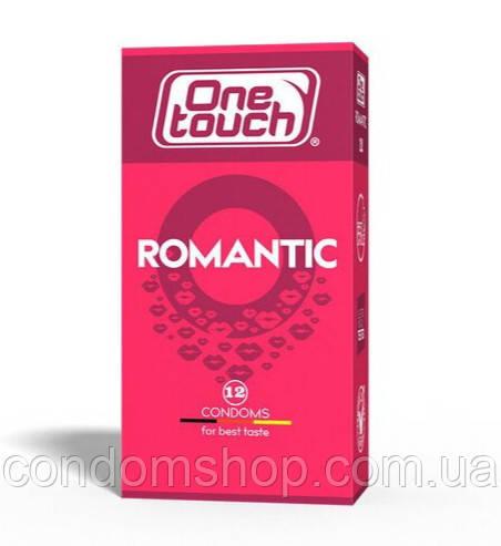 Презервативы One touch romantic  Ван тач романтик ароматизированные с клубникой #12 шт.Премиум класс!