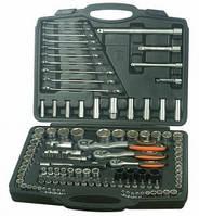 Набор инструмента 1/4'', 3/8'', 1/2'' с ключами, 120 шт Miol 58-070