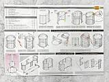 Круглая Кроватка трансформер 9в1 IngVart Smartbed Round декор, звездочки, фото 9