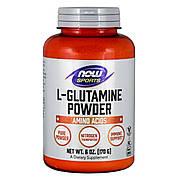 Глютамин в Порошке, L-Glutamine Powder, Now Foods, 170 гр.
