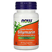 Силимарин (Расторопша) 300 Мг, Now Foods, 50 Капсул