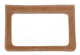 Обложка для прав из натуральной кожи SHVIGEL Коричневый 16081, КОД: 1475655