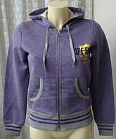 Кофта женская нарядная хлопок трикотаж капюшон бренд 10 Feet р.42-44 4650