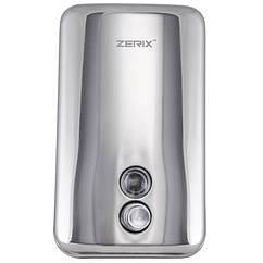 Дозатор нажимной для жидкого мыла настенный ZERIX D-1000-SUS ZX3247 хром металл 1000мл 97148