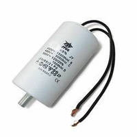 Конденсатор CBB-60 L  30 mkf - 450 VAC (±5%) Болт+гибкие выводы