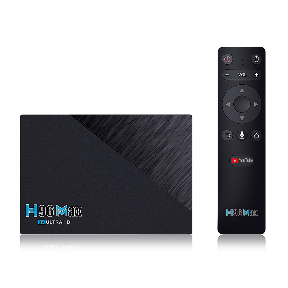 Смарт ТВ-приставка H96 MAX 3566 8/64Gb