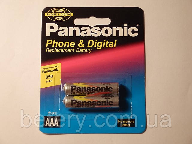 Panasonic 850mAh