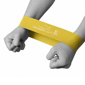 Фітнес резинка PowerPlay 4114 Light Жовта SKL24-143786