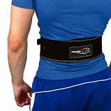 Пояс для важкої атлетики PowerPlay 5175 Чорно-Оранжевий XS SKL24-143796, фото 2