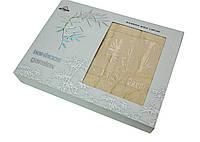 Простынь бамбуковая Gulcan в подарочной коробке 190*220