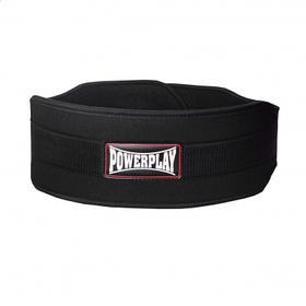 Пояс для важкої атлетики PowerPlay 5535 Чорний, Неопрен XL SKL24-143925