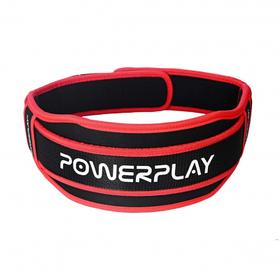 Пояс для важкої атлетики Power System 5545 Чорно-Червоний, Неопрен L SKL24-143928