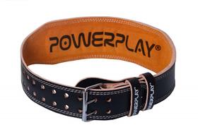 Пояс для важкої атлетики PowerPlay 5084 Чорно-Жовтий L SKL24-143936