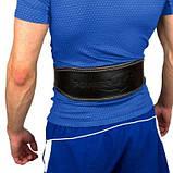 Пояс для важкої атлетики PowerPlay 5084 Чорно-Жовтий L SKL24-143936, фото 2