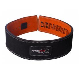 Пояс для важкої атлетики PowerPlay 5175 Чорно-Оранжевий S SKL24-143938