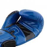 Боксерські рукавиці PowerPlay 3017 Сині карбон 16 унцій SKL24-144017, фото 9