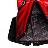 Боксерські рукавиці PowerPlay 3017 Червоні карбон 16 унцій SKL24-144019, фото 4