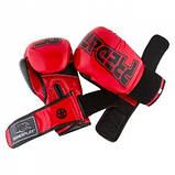 Боксерські рукавиці PowerPlay 3017 Червоні карбон 16 унцій SKL24-144019, фото 9