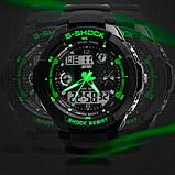 Skmei Чоловічі годинники Skmei S-Shock Green 0931, фото 6