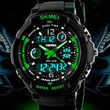 Skmei Мужские спортивные кварцевые часы Skmei S-Shock Green 0931, фото 4