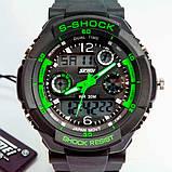 Skmei Мужские спортивные кварцевые часы Skmei S-Shock Green 0931, фото 5