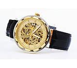 Winner Мужские классические механические часы c автоподзаводом Winner Simple Gold 1106, фото 9