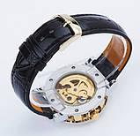 Winner Мужские классические механические часы c автоподзаводом Winner Simple Gold 1106, фото 10