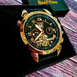 Jaragar Мужские классические механические часы Jaragar Turboulion 1007 с автоподзаводом и датой, фото 8