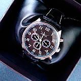 Jaragar Мужские классические механические часы Jaragar Elite Black 1013, фото 2