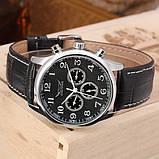 Jaragar Чоловічі класичні механічні годинники Jaragar Elite Black 1013, фото 3