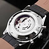 Jaragar Чоловічі класичні механічні годинники Jaragar Elite Black 1013, фото 5